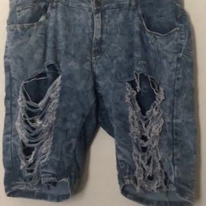 Other - Plus size jean shorts